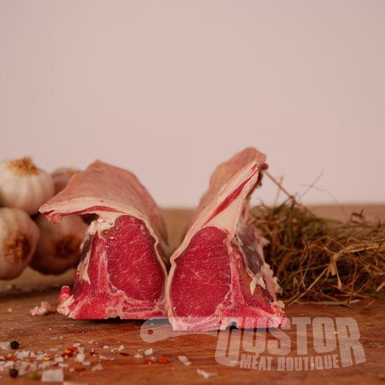 biologisch lamsvlees, agneau bio des ardennes, lamskotelet, côte d'agneau