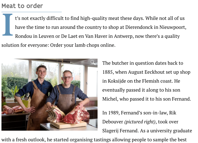 Gustor Meat Boutique takes the neighbourhood butcher online