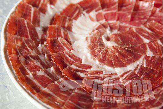 Cortador, mangalica, handcut mangalica ham