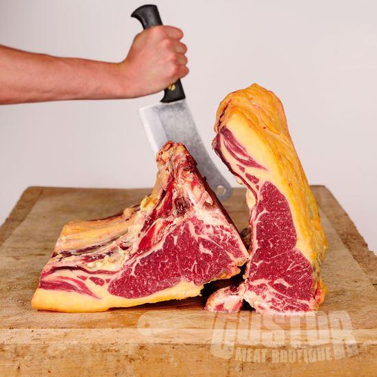 Jersey koe, jerseay steak, jersey entrecote